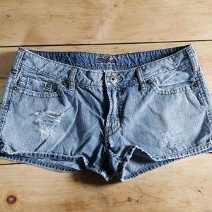 Silver Jean's shorts